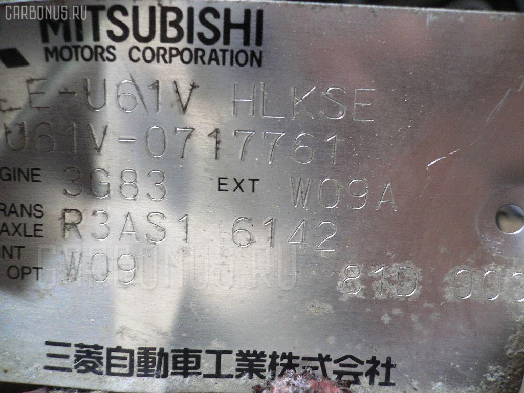 Двигатель MITSUBISHI MINICAB U61V 3G83 Фото 1