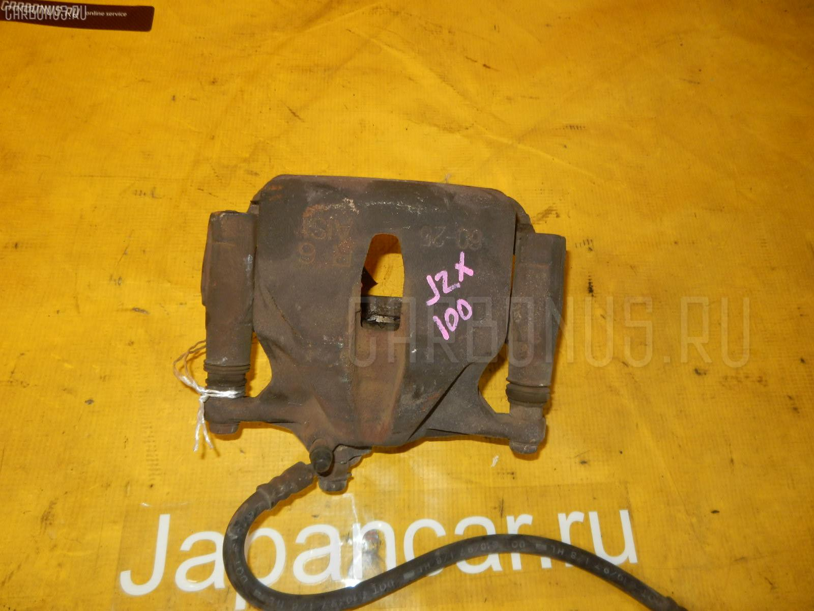 Суппорт TOYOTA CHASER JZX100 1JZ-GE. Фото 6