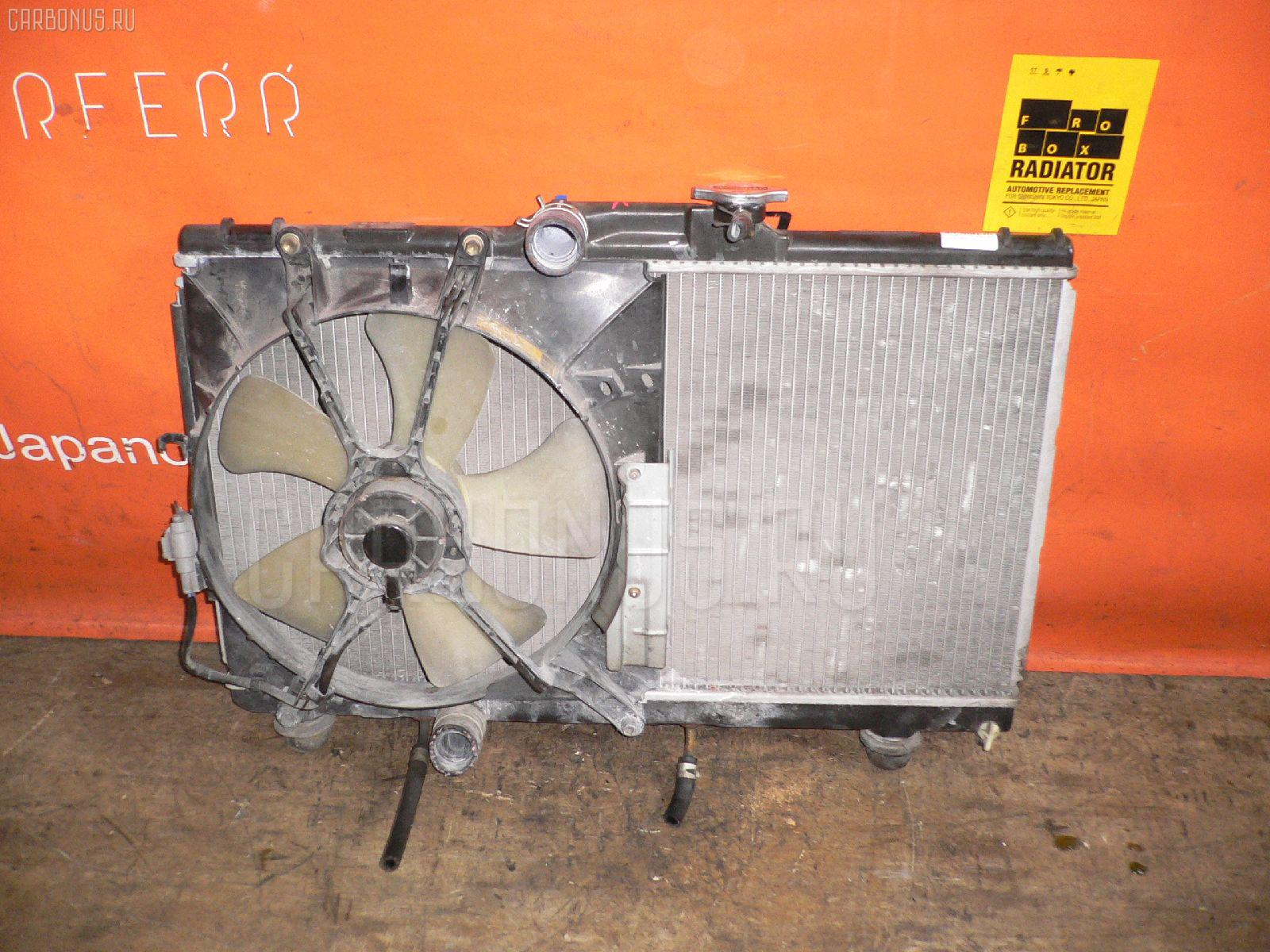 Радиатор ДВС TOYOTA COROLLA WAGON AE100G 5A-FE. Фото 4