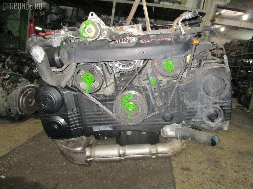 Двигатель SUBARU FORESTER SG5 EJ205. Фото 1