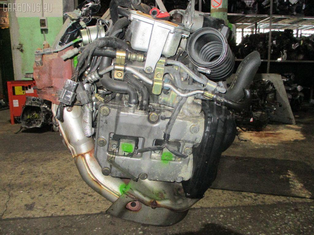 Двигатель SUBARU FORESTER SG5 EJ205. Фото 4
