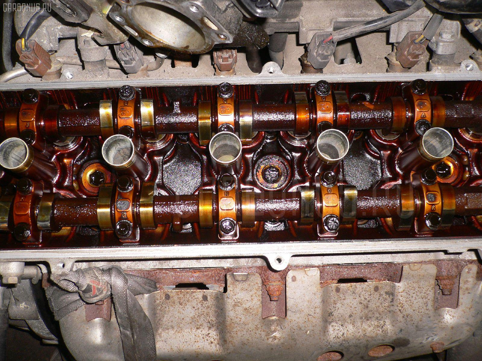 Двигатель TOYOTA CHASER GX100 1G-FE. Фото 9