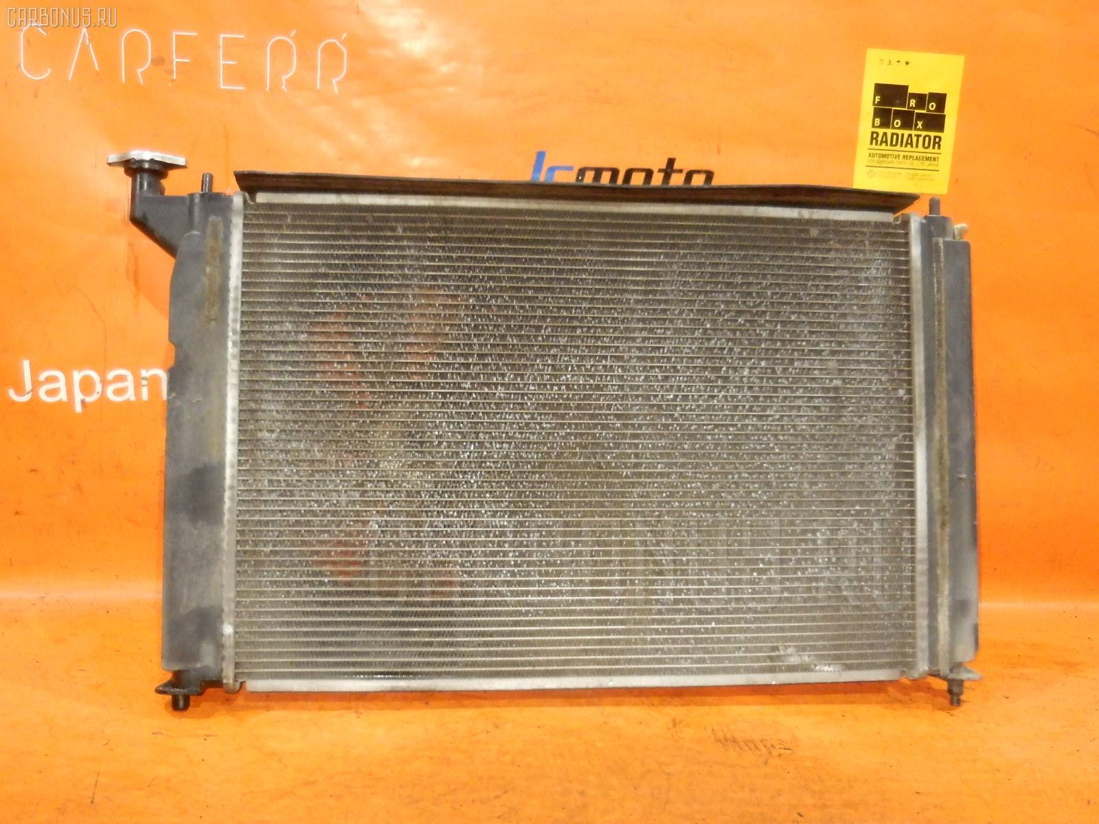 Радиатор ДВС TOYOTA OPA ZCT10 1ZZ-FE. Фото 4