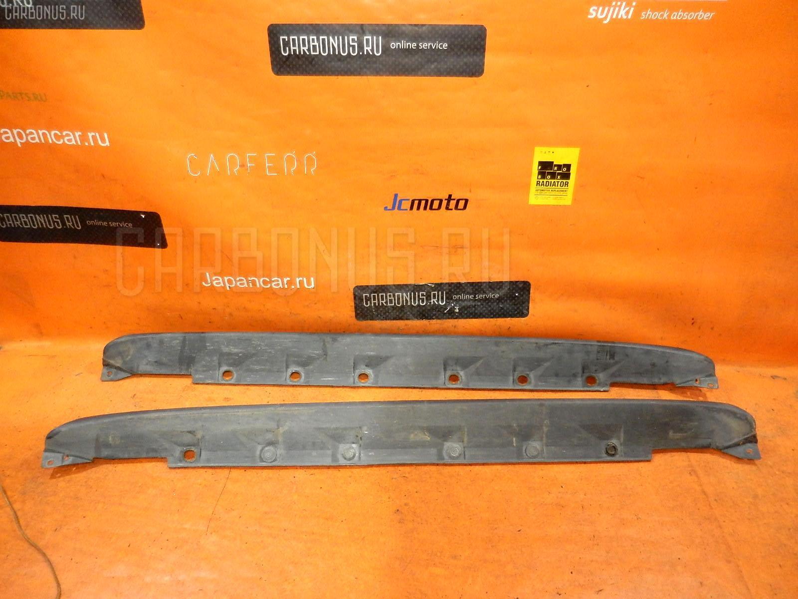 Порог кузова пластиковый ( обвес ) TOYOTA IST NCP61. Фото 9