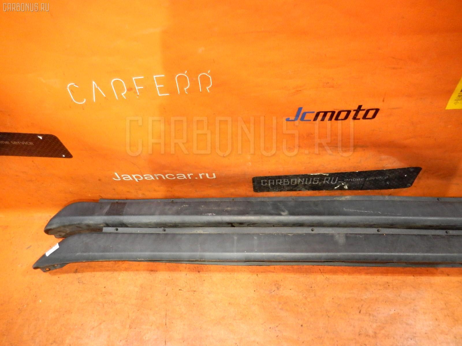 Порог кузова пластиковый ( обвес ) TOYOTA IST NCP61. Фото 8