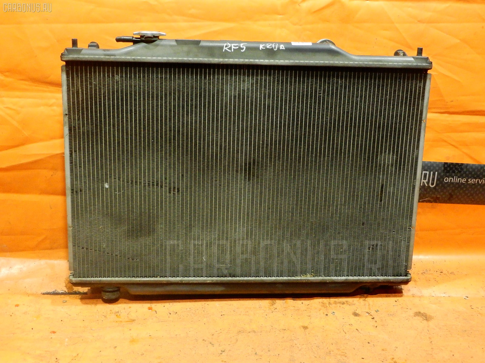 Радиатор ДВС HONDA STEPWGN RF5 K20A. Фото 3