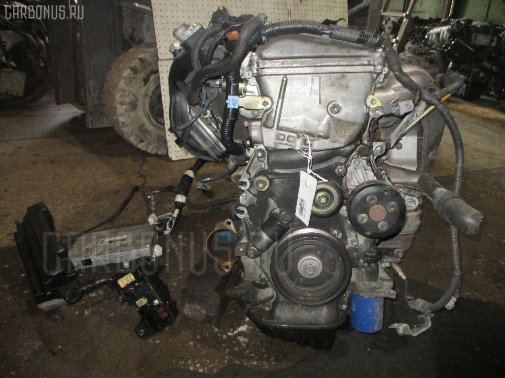 Двигатель TOYOTA ISIS ANM10G 1AZ-FSE. Фото 3