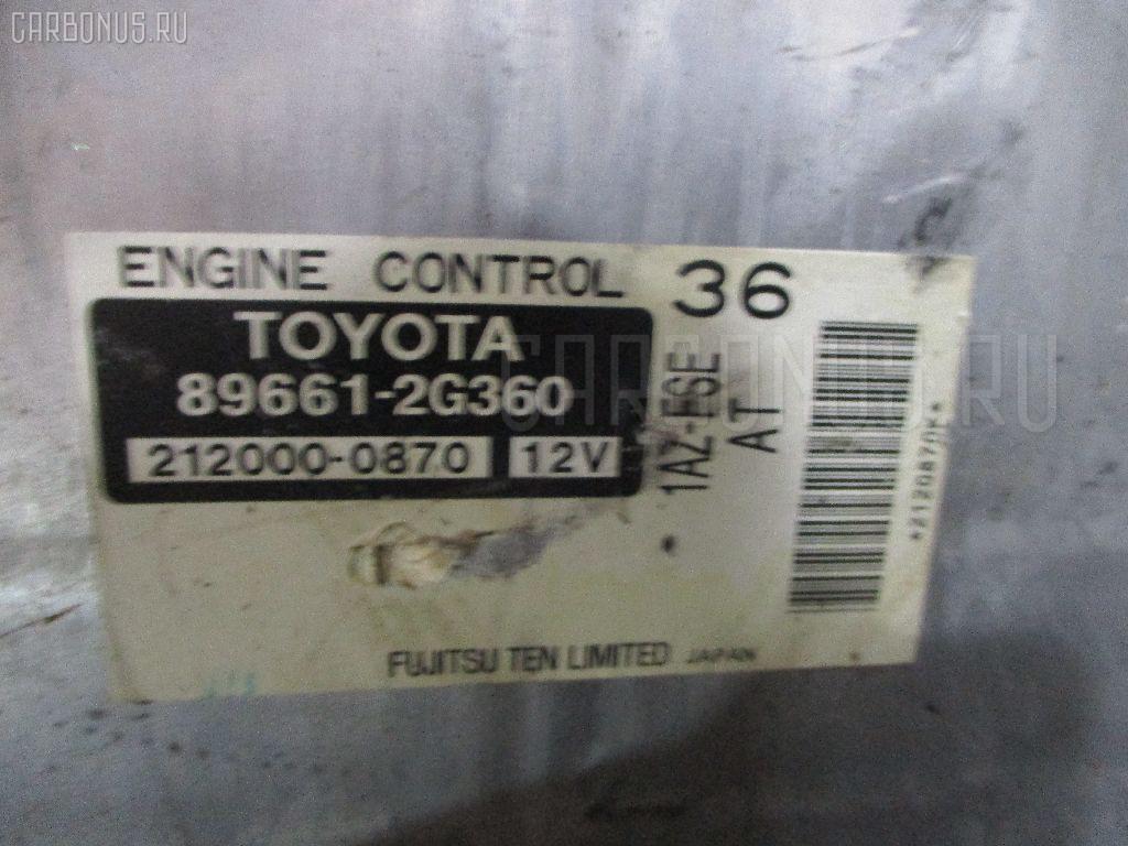 Двигатель TOYOTA ISIS ANM10G 1AZ-FSE. Фото 6
