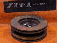 Тормозной диск NISSAN PRESAGE TU31 QR25 Переднее