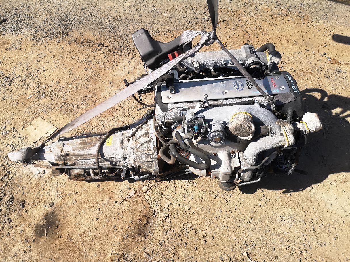 Двигатель на Toyota Mark Ii JZX110 1JZ-GTE Фото 1