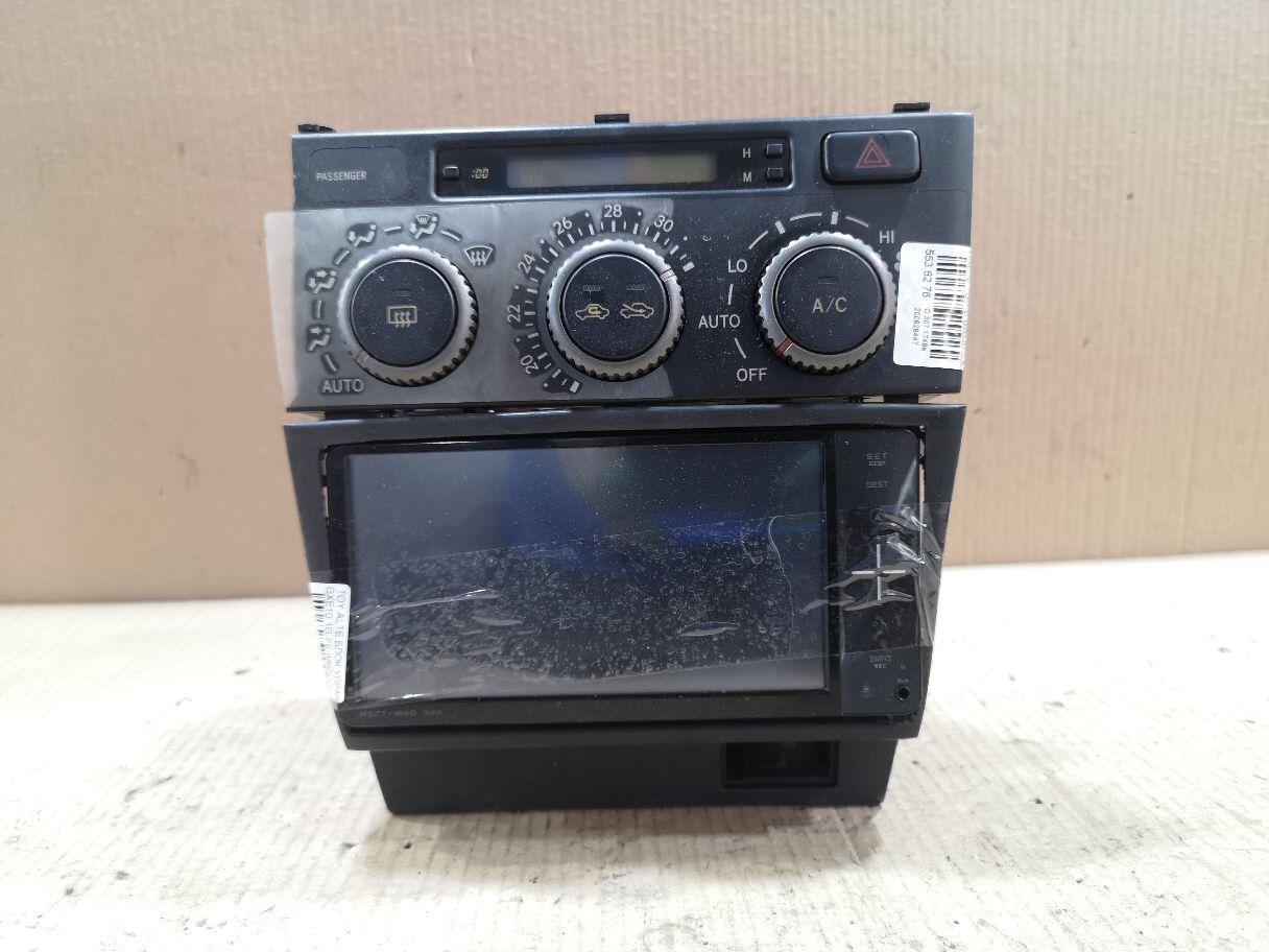 Блок управления климатконтроля на Toyota Altezza GXE10 1G-FE Фото 1