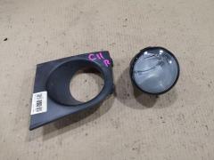 Туманка бамперная на Nissan Tiida C11 02B2704, Правое расположение