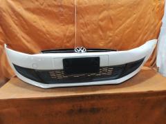 Бампер на Volkswagen Polo 6R 6R0807221R  6R0805915C  6R0853651C  6R0853665C, Переднее расположение