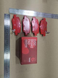 Тормозные колодки на Toyota Auris ADE157 1ND-TV TADASHI TD-086-7021, Заднее расположение