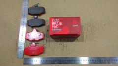 Тормозные колодки на Nissan Almera N16 K9K TADASHI TD-086-7013, Заднее расположение