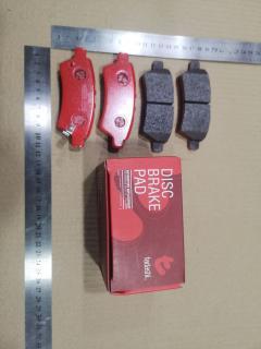 Тормозные колодки на Nissan Frontier D40 QR25 TADASHI TD-086-7015, Заднее расположение