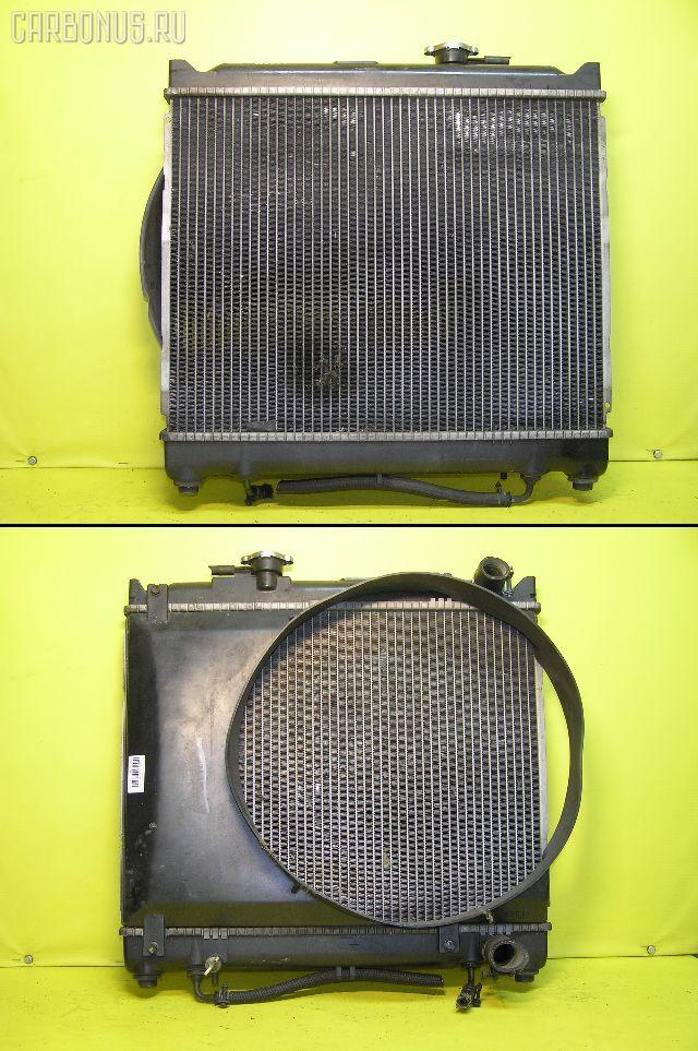 Радиатор ДВС SUZUKI ESCUDO TA01W G16A. Фото 6