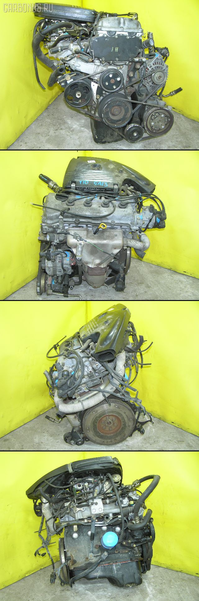 Двигатель NISSAN AD VAN VY10 GA13DS. Фото 1