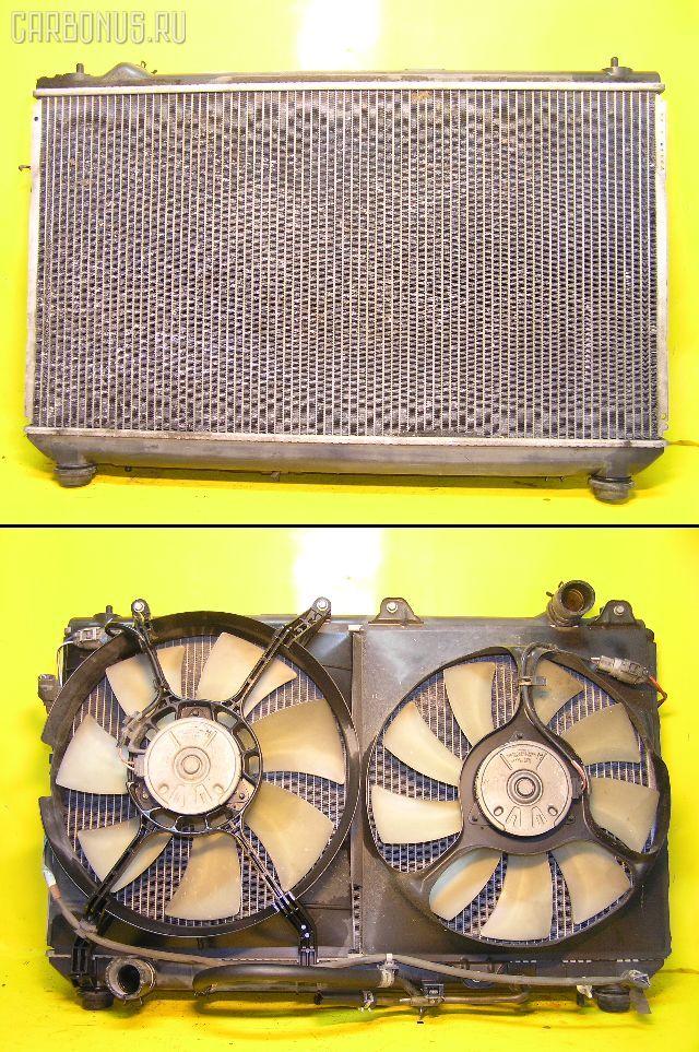 Радиатор ДВС TOYOTA MARK II QUALIS MCV21W 2MZ-FE. Фото 8