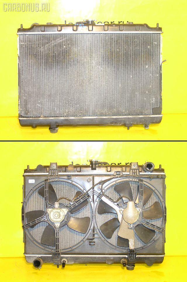 Радиатор ДВС NISSAN AVENIR PNW11 SR20DE. Фото 7