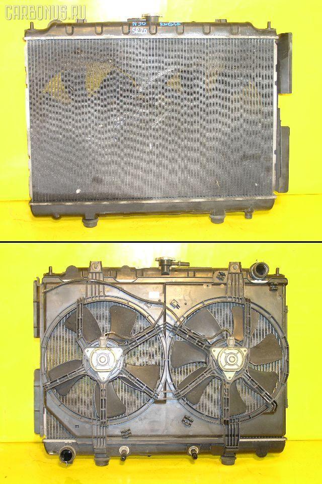 Радиатор ДВС NISSAN RNESSA N30 SR20DE. Фото 10
