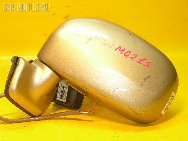 Зеркало двери боковой NISSAN MOCO MG21S. Фото 10