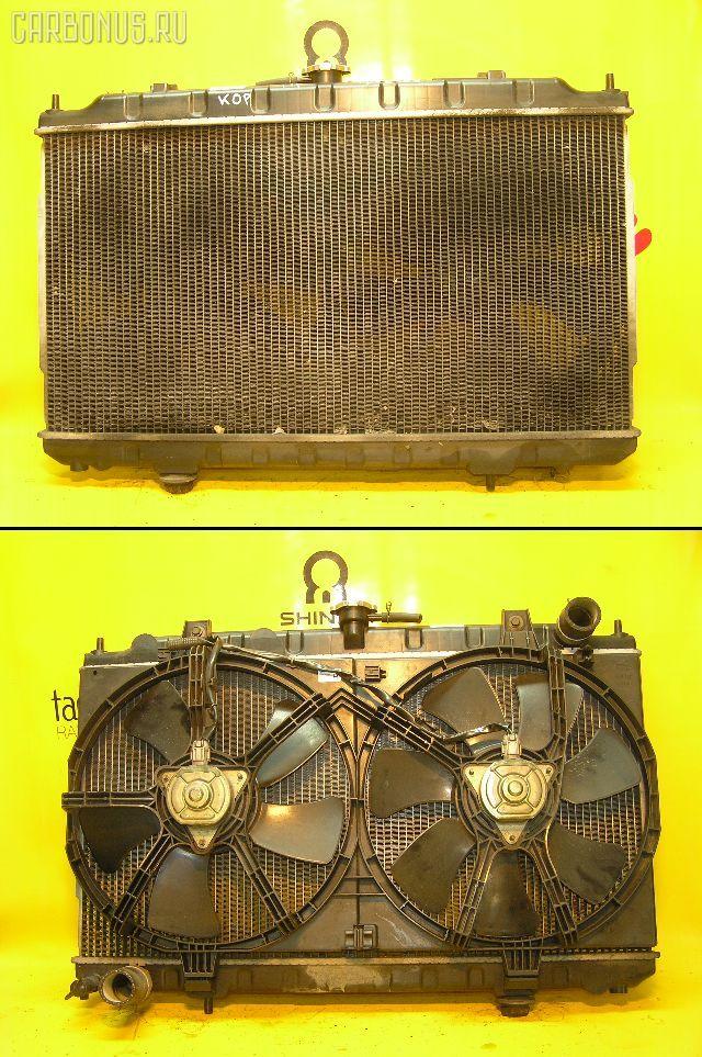 Радиатор ДВС NISSAN AD VAN VEY11 YD22DD. Фото 11