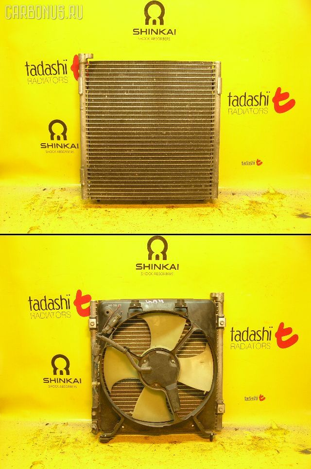 Радиатор кондиционера HONDA CAPA GA4 D15B. Фото 5