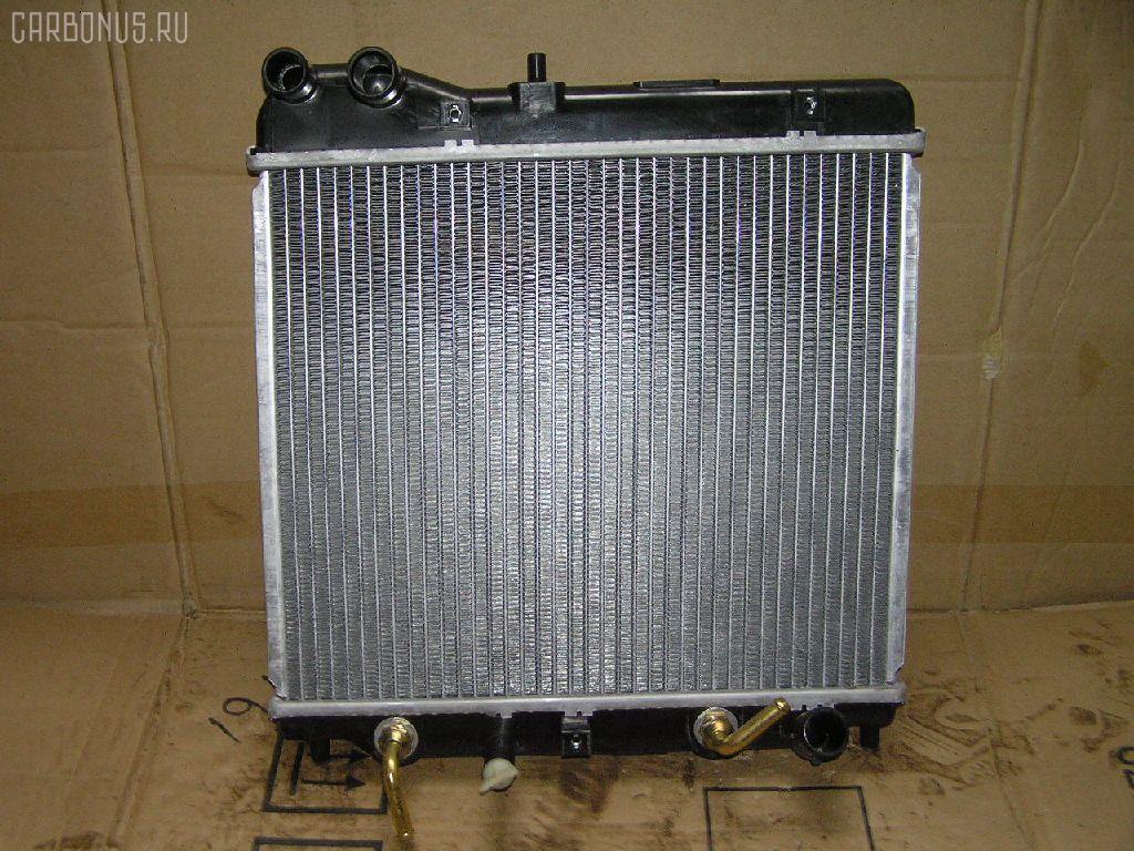 Радиатор ДВС HONDA FIT GD1 L13A. Фото 6