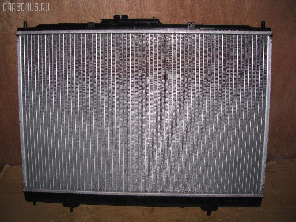 Радиатор ДВС MITSUBISHI PAJERO IO H76W 4G93. Фото 4