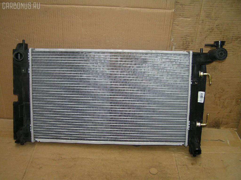 Радиатор ДВС TOYOTA COROLLA NZE120 2NZ-FE. Фото 3