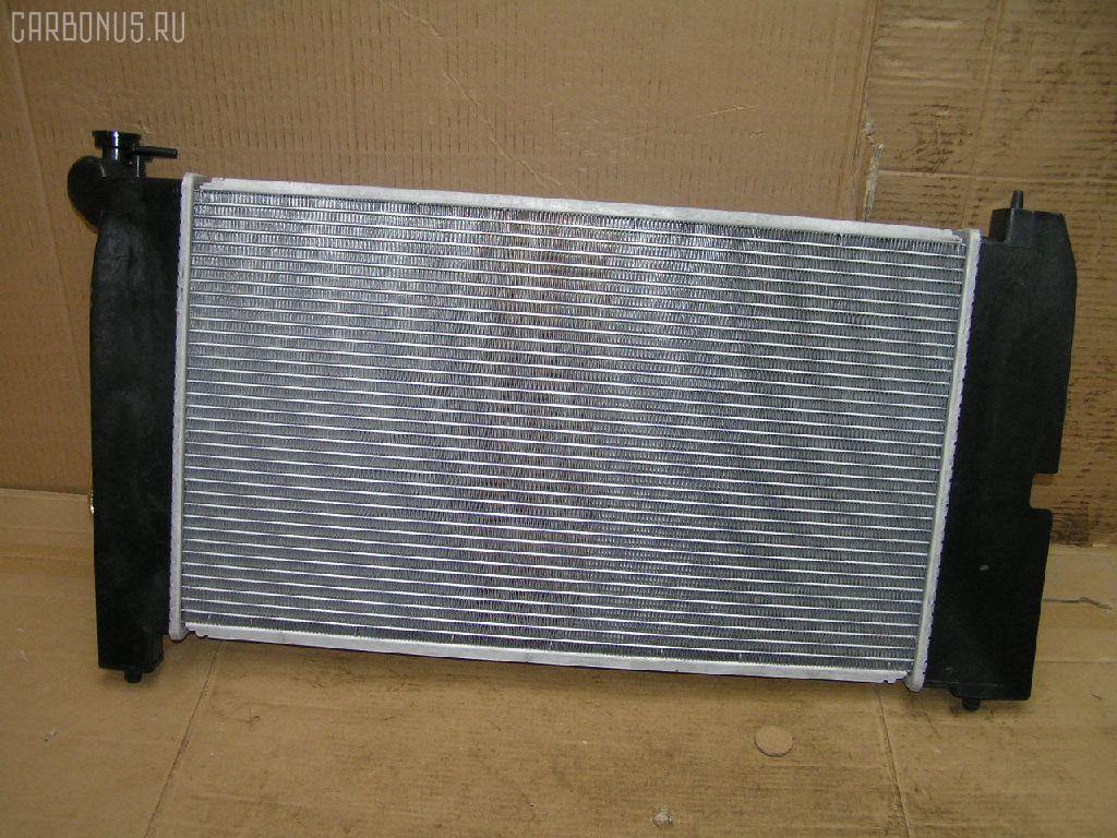 Радиатор ДВС TOYOTA COROLLA NZE120 2NZ-FE. Фото 4