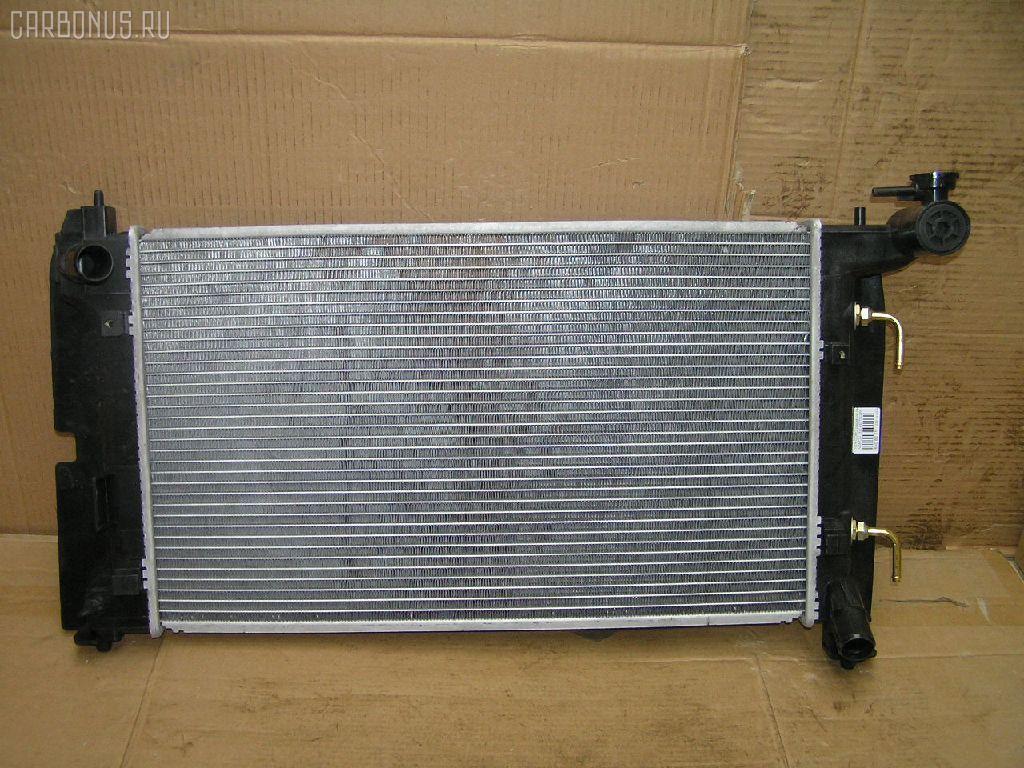 Радиатор ДВС TOYOTA COROLLA NZE120 2NZ-FE. Фото 7