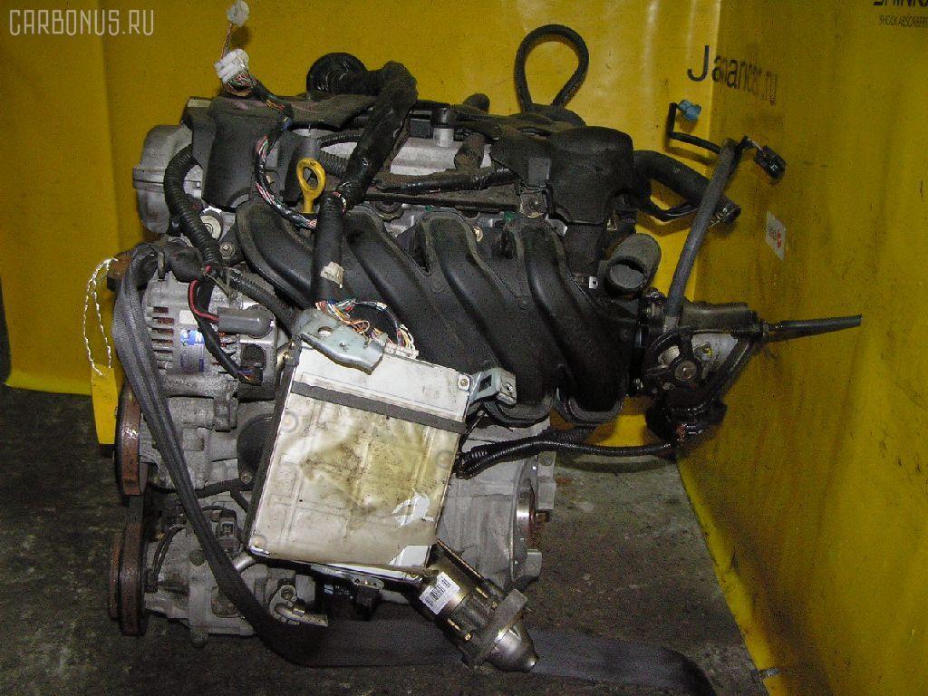 Двигатель TOYOTA PLATZ NCP16 2NZ-FE. Фото 10