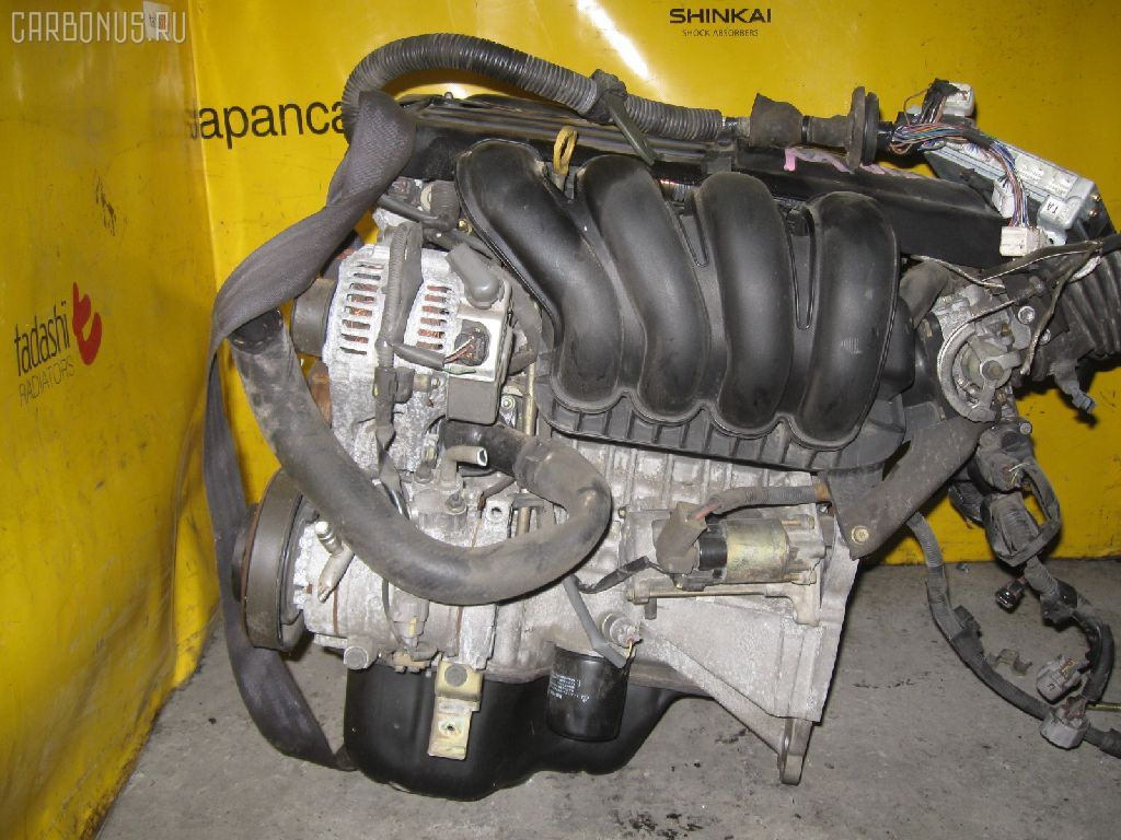 Двигатель TOYOTA VISTA ZZV50 1ZZ-FE. Фото 9