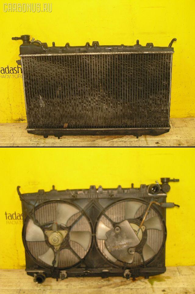 Радиатор ДВС NISSAN AD WAGON WFY10 GA15DE. Фото 1