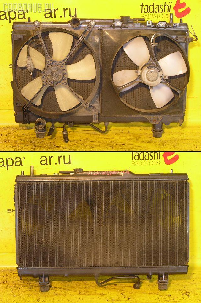 Радиатор ДВС TOYOTA CARINA AT210 4A-FE. Фото 5