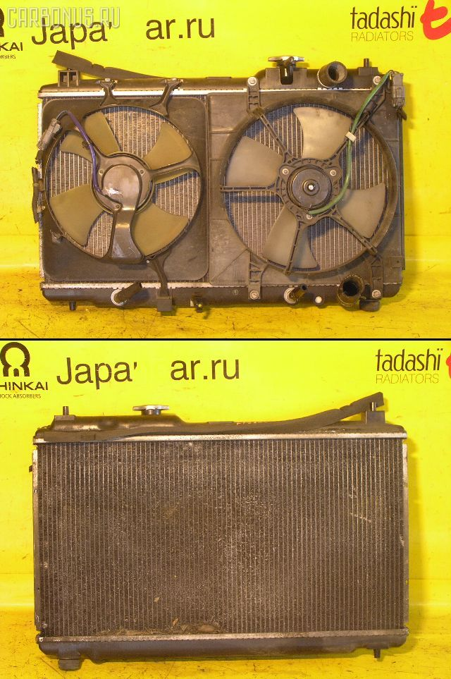 Радиатор ДВС HONDA ORTHIA EL3 B20B. Фото 9