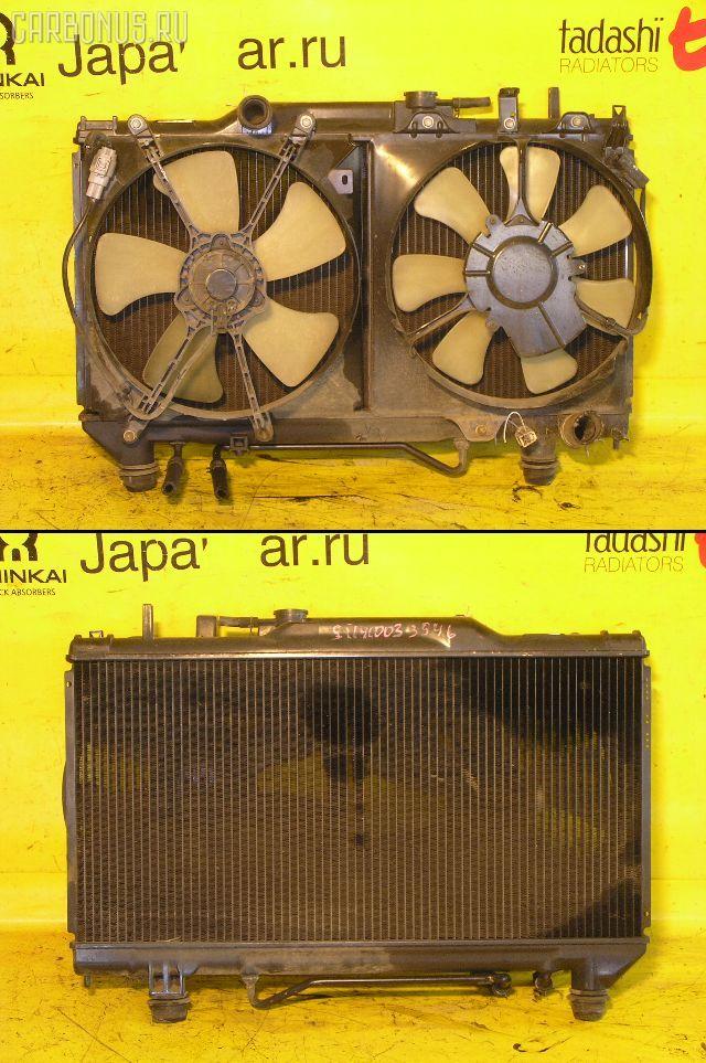 Радиатор ДВС TOYOTA CORONA ST190 4S-FE. Фото 9