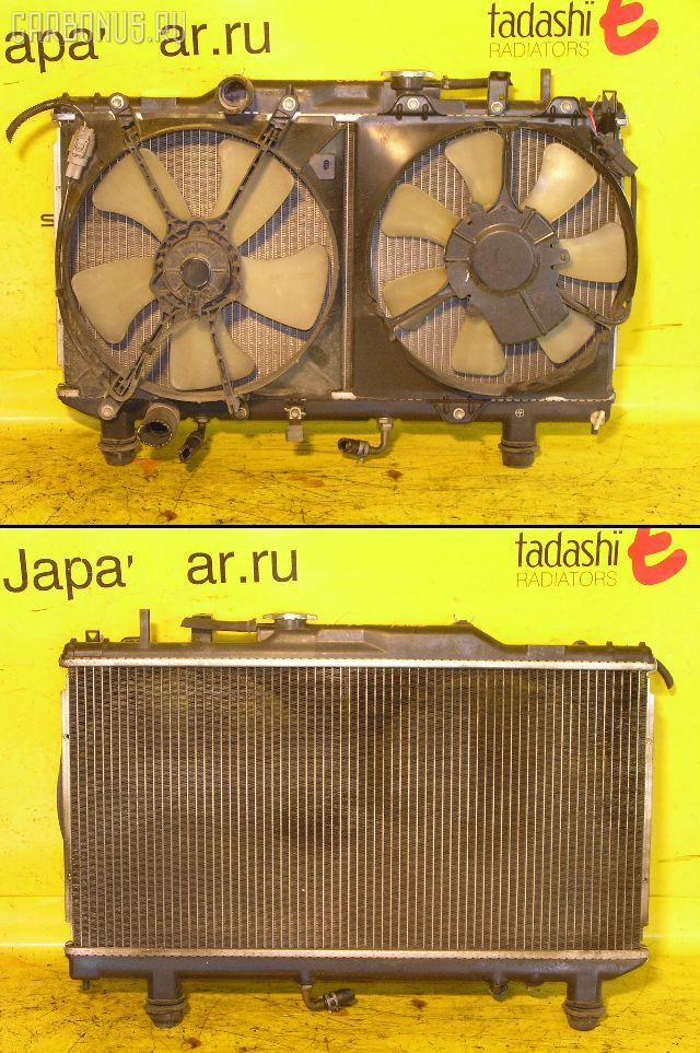 Радиатор ДВС TOYOTA CARINA AT192 5A-FE. Фото 6