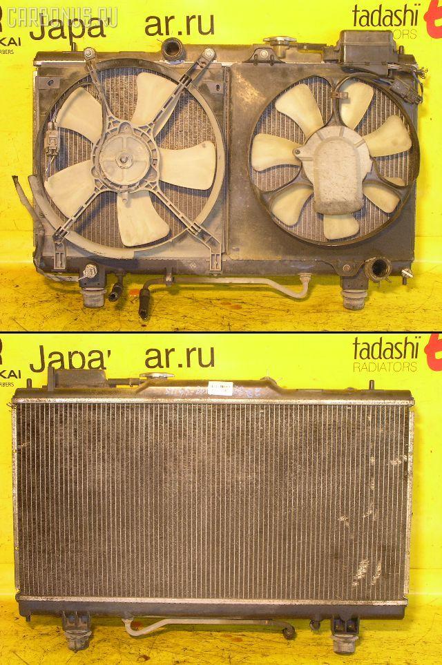 Радиатор ДВС TOYOTA CALDINA ST195G 3S-GE. Фото 3