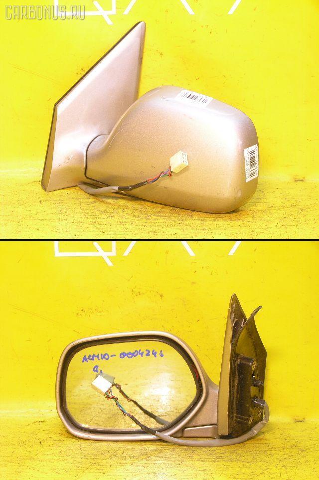 Зеркало двери боковой TOYOTA GAIA ACM10G. Фото 7