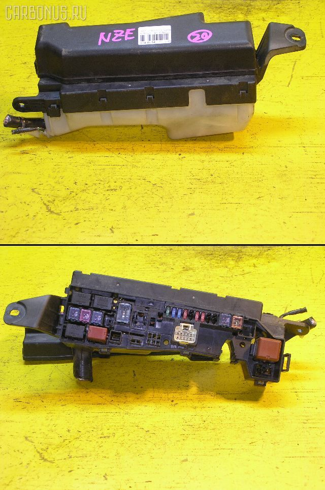 Блок предохранителей TOYOTA COROLLA NZE124 1NZ-FE. Фото 9