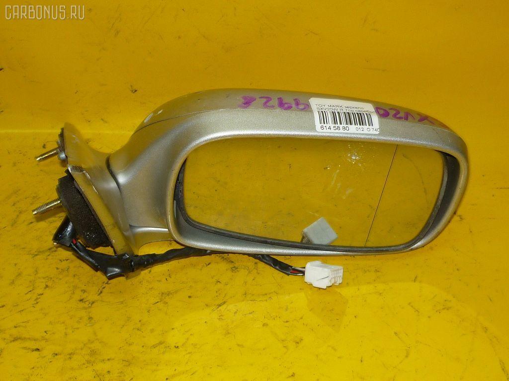 Зеркало двери боковой TOYOTA MARK II QUALIS SXV20W. Фото 7