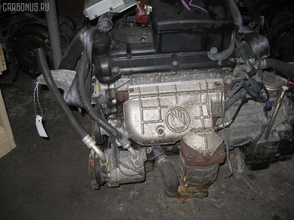 Двигатель SUZUKI WAGON R SOLIO MA64S K10A. Фото 11