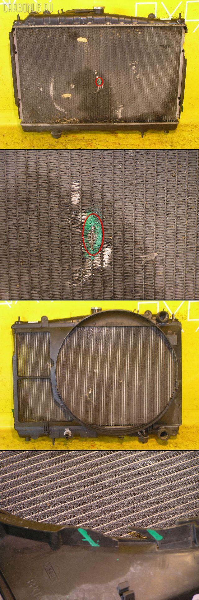 Радиатор ДВС NISSAN STAGEA WGC34 RB25DE. Фото 9