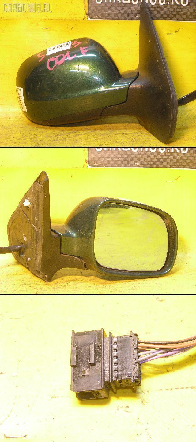 Зеркало двери боковой VOLKSWAGEN GOLF IV 1JAGN Фото 1