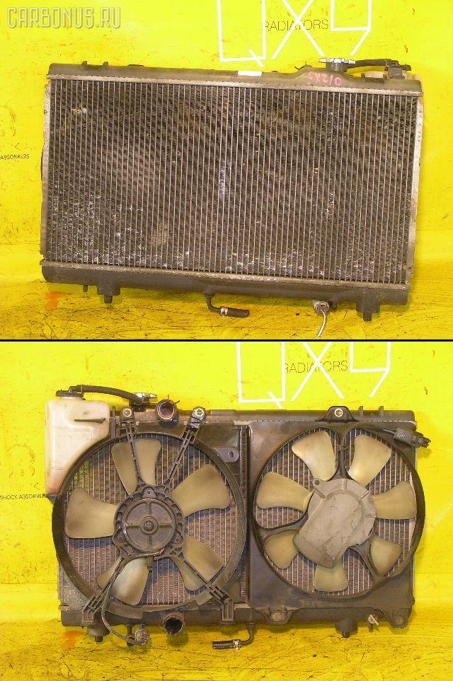 Радиатор ДВС TOYOTA RAUM EXZ10 5E-FE. Фото 8
