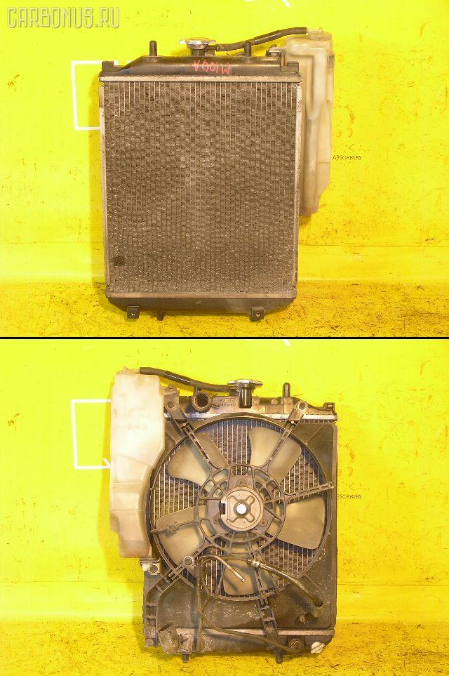 Радиатор ДВС TOYOTA DUET M100A EJ-DE. Фото 10