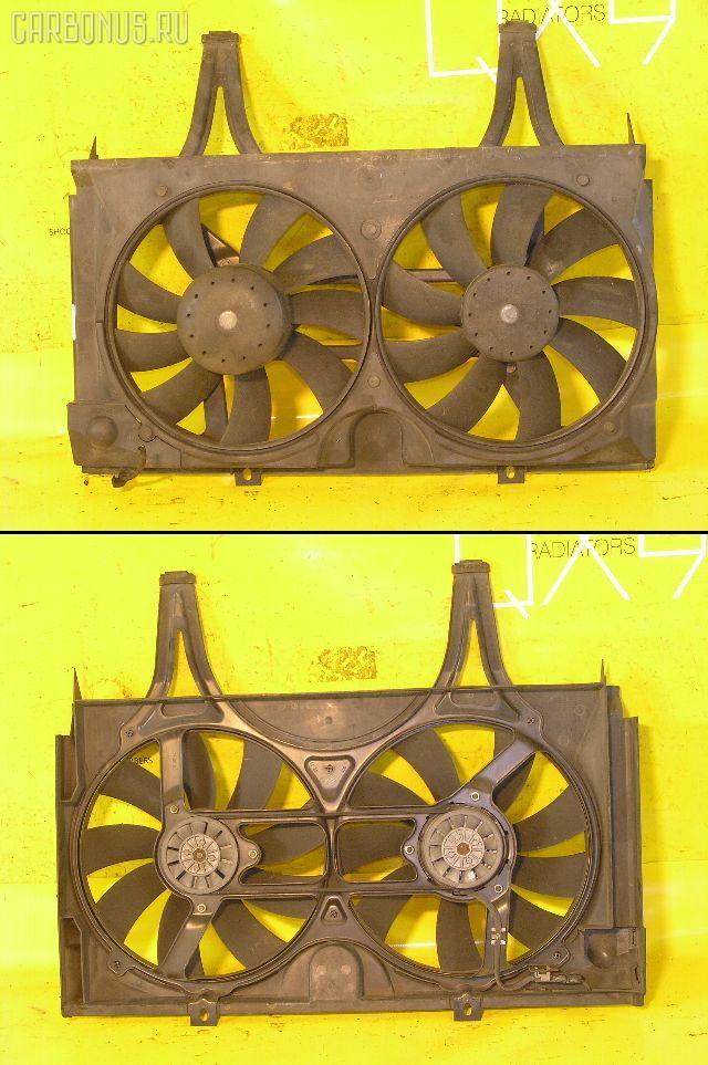 Вентилятор радиатора кондиционера MERCEDES-BENZ E-CLASS W210.055 104.995. Фото 3